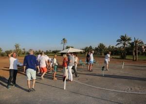 Séjour Golf et Pétanque À Marrakech 2016