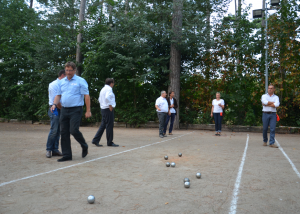 UNIS pétanque tour paris