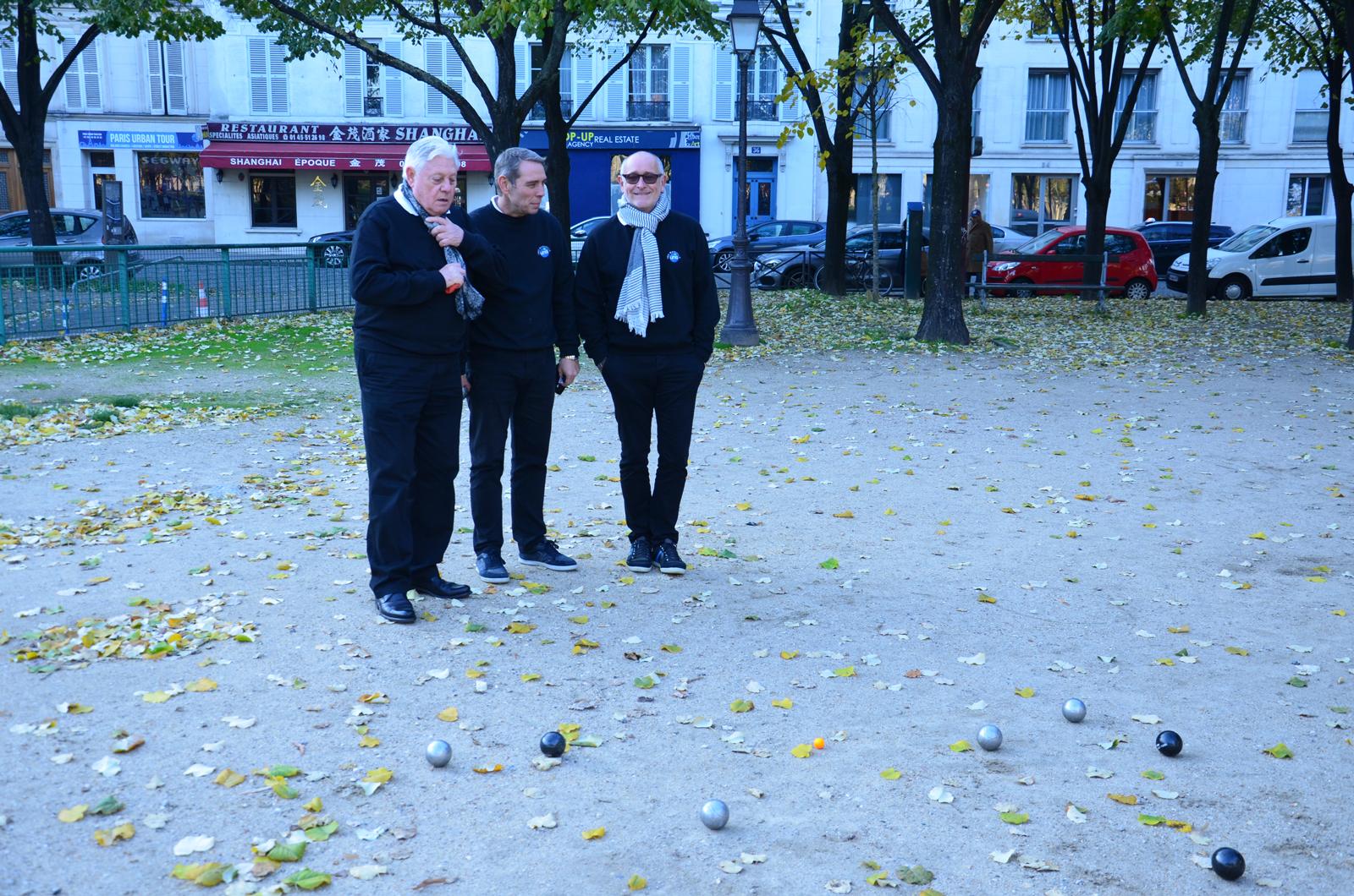 Finale Unis pétanque Tour Paris le 22-novembre – 2